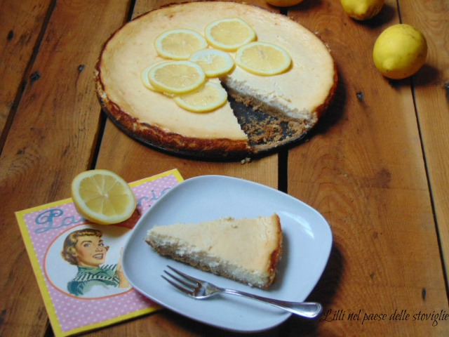 cheesecake, dal mondo, dolci, formaggio, frutta, limone