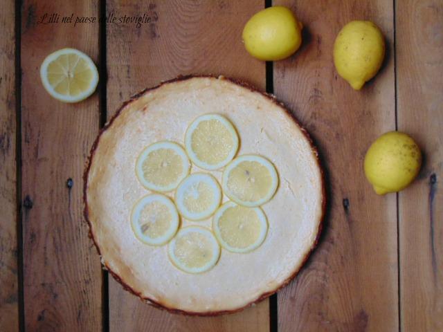 cheesecake, limone, frutta, dolci, dal mondo, formaggio