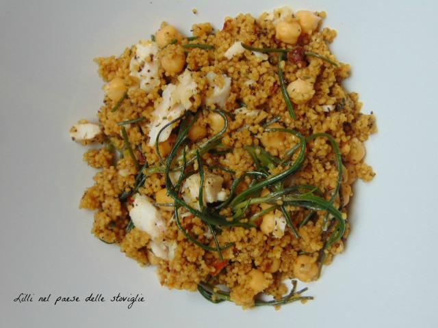 piatto unico, primi, agretti, verdure, cereali, cous cous, ceci, legumi, pesce, san pietro
