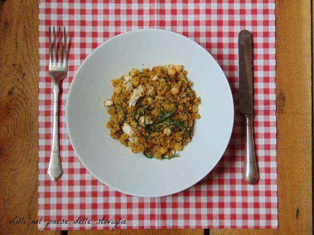 cous cous, cereali, agretti, verdure, pesce, primi piatti, san pietro, legumi, ceci