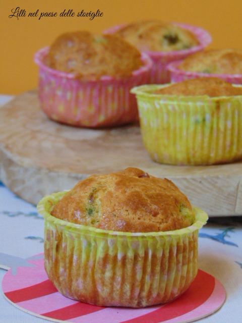 muffin asparagi pancetta e pecorino | Lilli nel paese delle