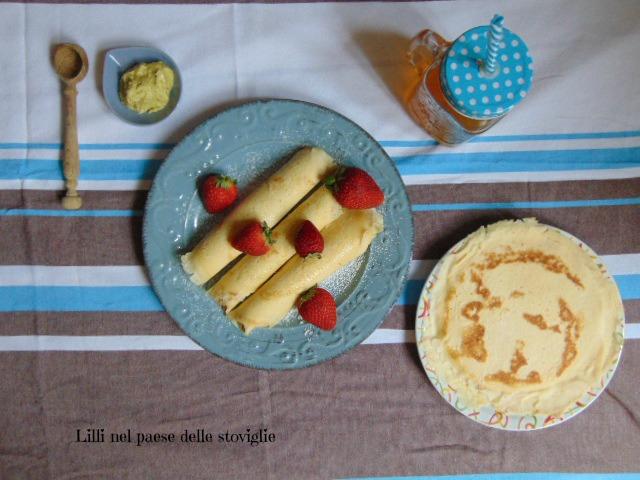 crepes, uova, colazione, merenda, pistacchi, dolci, frutta secca
