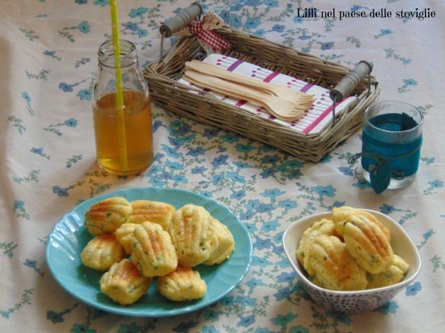 madeleines, finger food, antipasto, piselli, legumi, formaggio, parmigiano