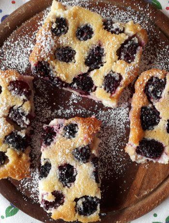 torta, dolci, dolci al cucchiaio, cocco, more, frutta, colazione, merenda