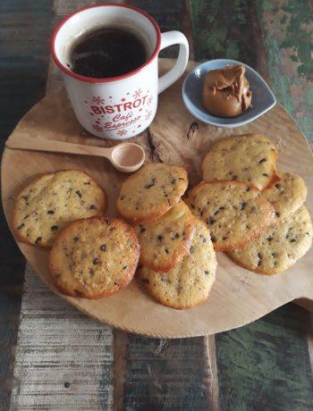 biscotti americani al cioccolato e burro di arachidi