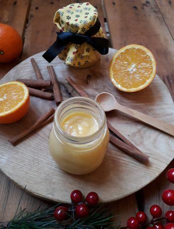 crema spalmabile all'arancia e cannella