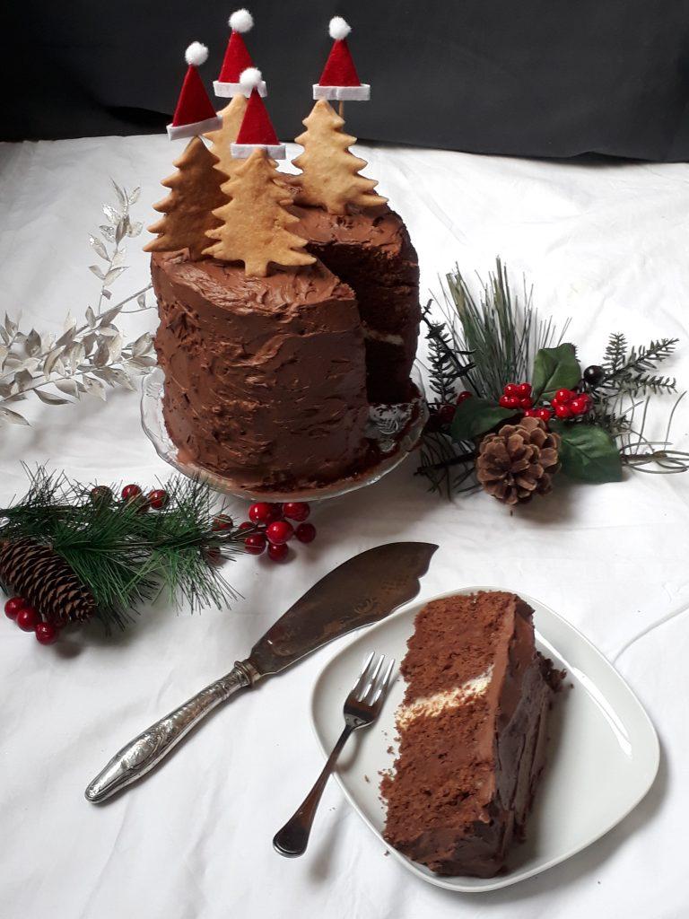 mud cake di natale