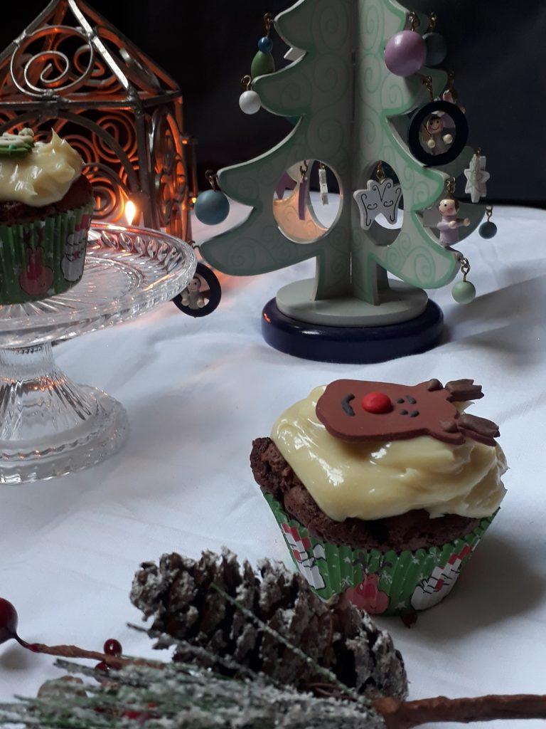 cupcake pere e cioccolato con crema al mascarpone