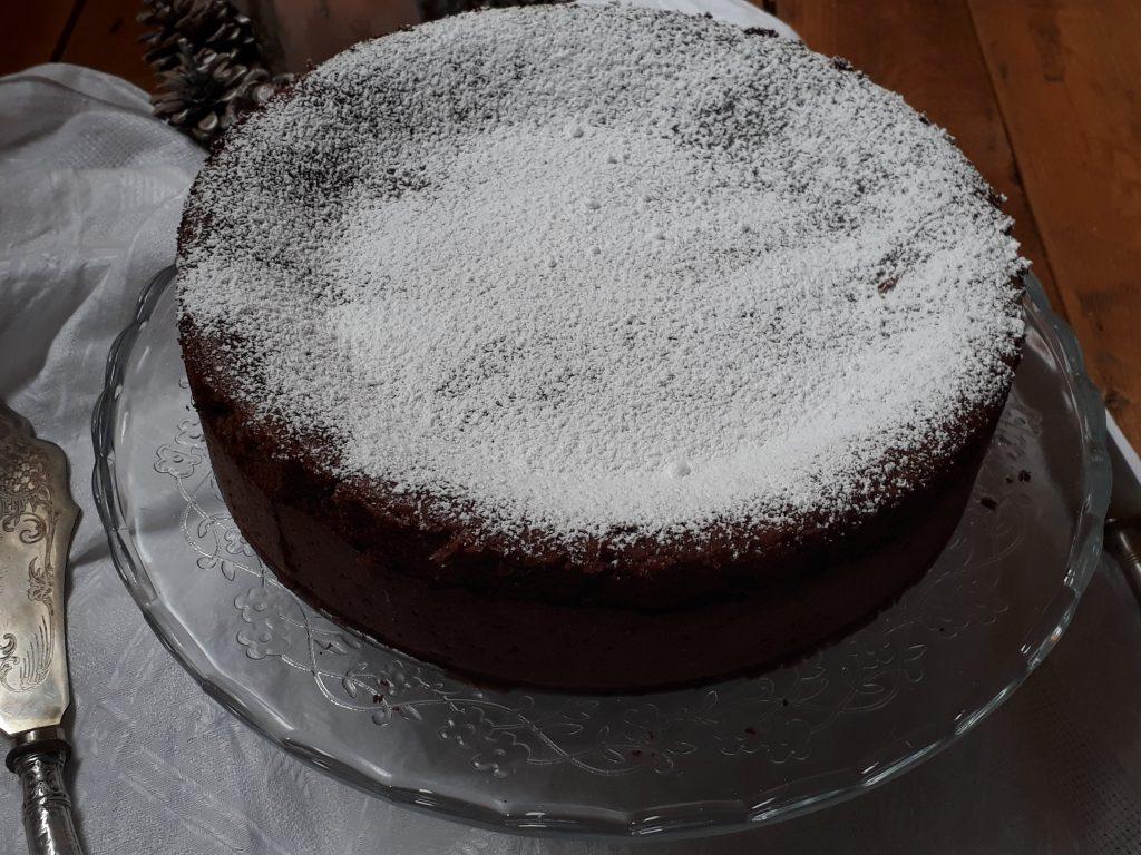 torta alle pere e cioccolato soufflè
