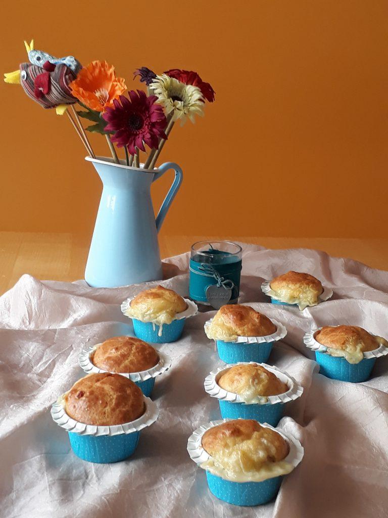 muffin alla pancetta e fontina