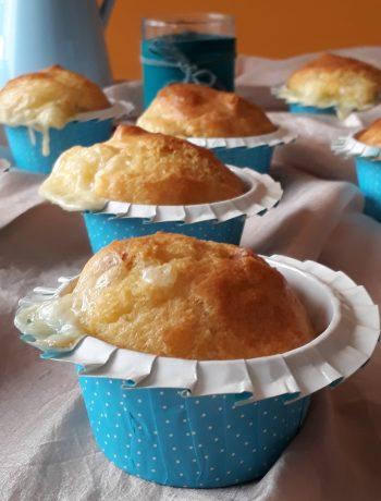 muffin alla pancetta affumicata e fontina