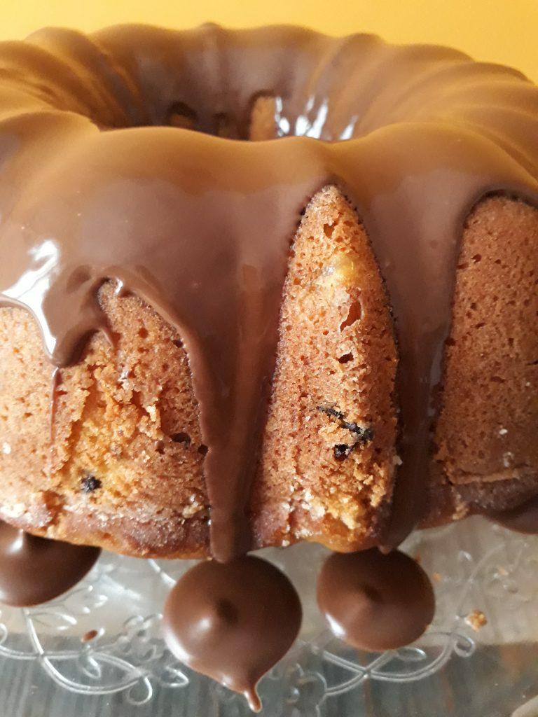 ciambella ricotta pere e cioccolato
