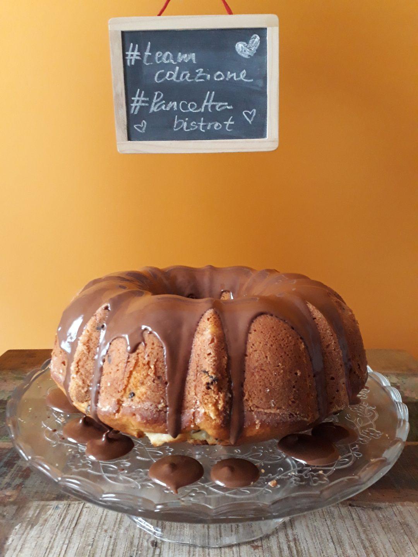 bundt cake cioccolato ricotta pere