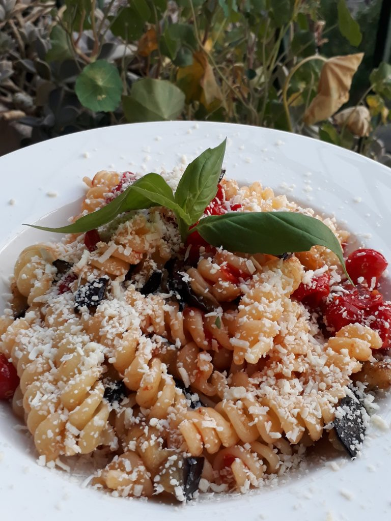 pasta siciliana alla norma