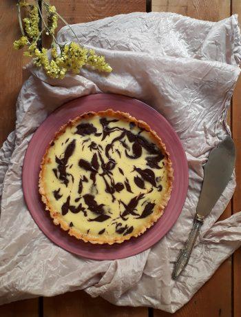 torta cioccolato e limone