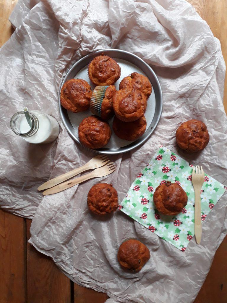 muffin allo speck e prugne