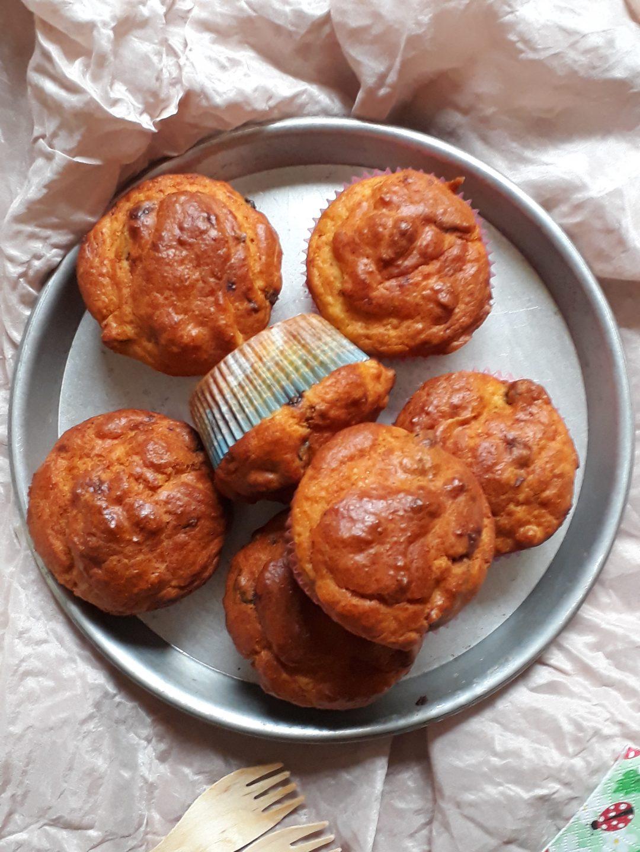 muffin prugne e speck