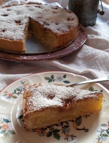 torta ai fichi e frangipane