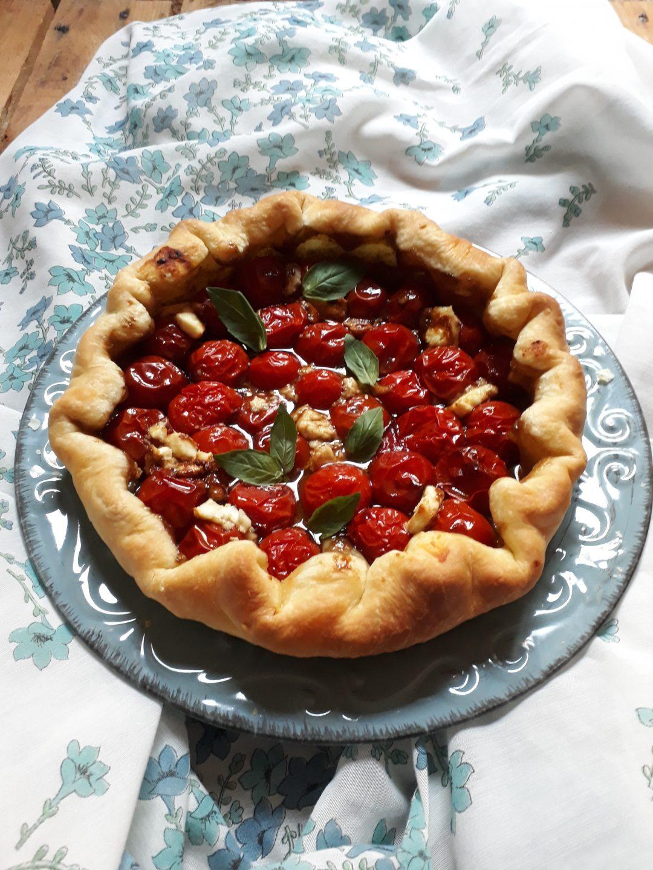 torta ai pomodori e feta