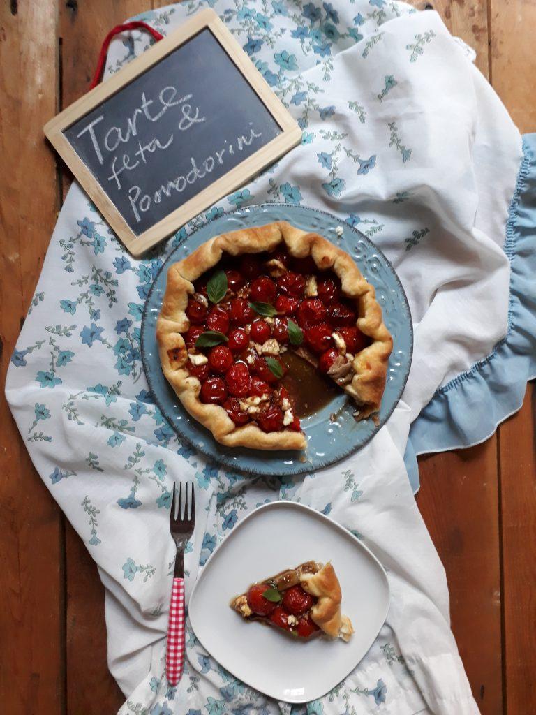 tarte ai pomodorini e feta