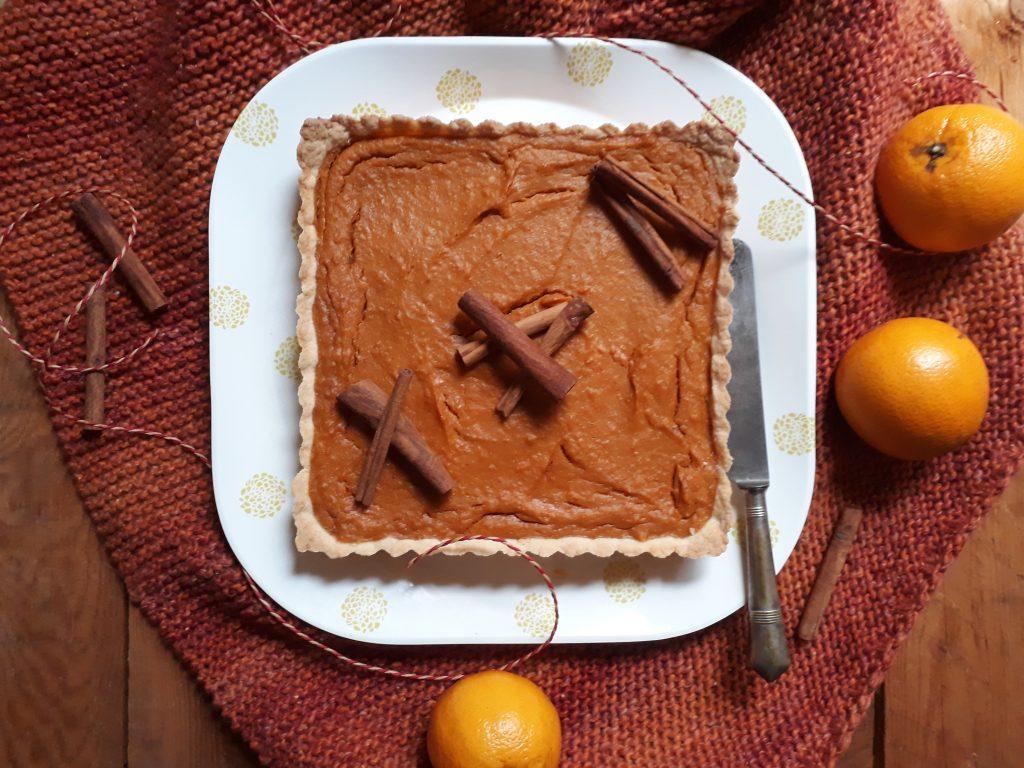 torta di patate dolci spezie e arance