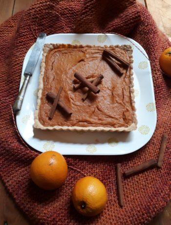 torta con patate dolci arancia e spezie