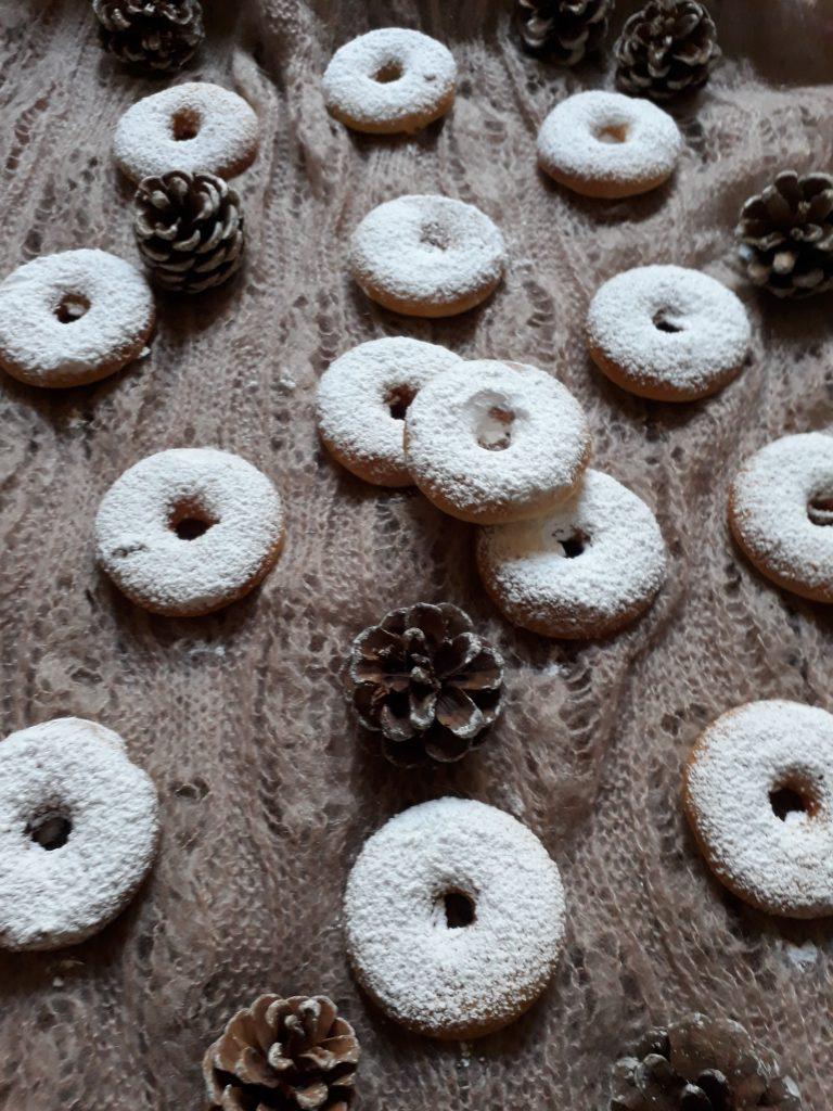 donuts mini alle nocciole