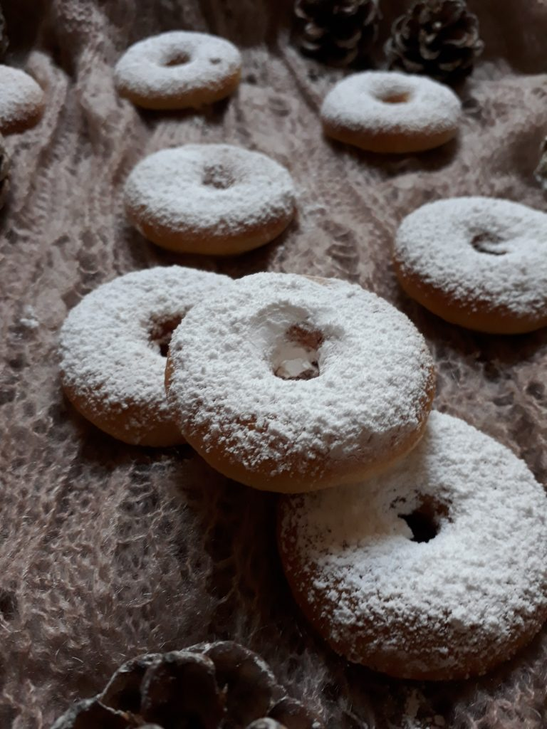 piccoli donuts alle nocciole