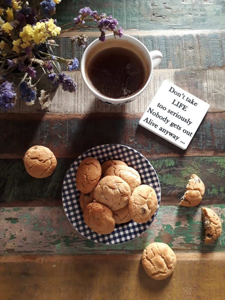 cookies al burro di arachidi e cioccolato