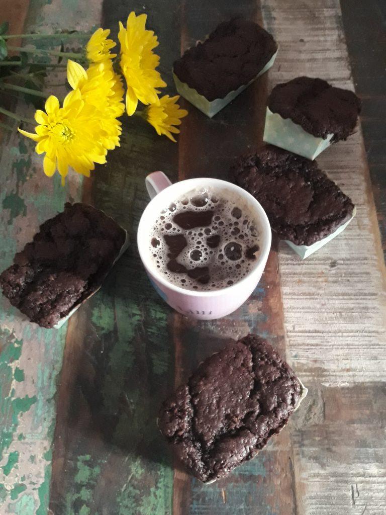 mini plumcake al cioccolato e zucchine