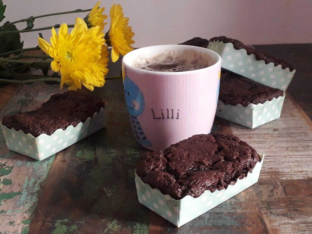 mini plumcake alle zucchine e cioccolato