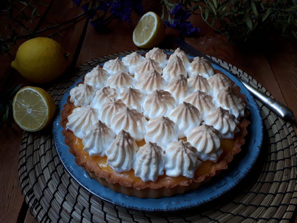 torta al limone e meringa