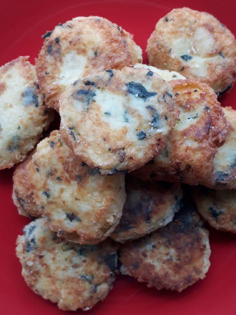 crocchette con ortiche e patate