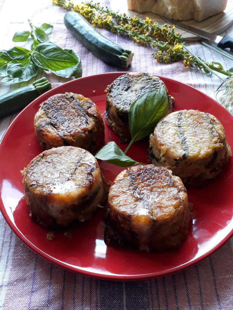 parmigiana con le zucchine