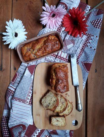 plumcake con fichi e speck