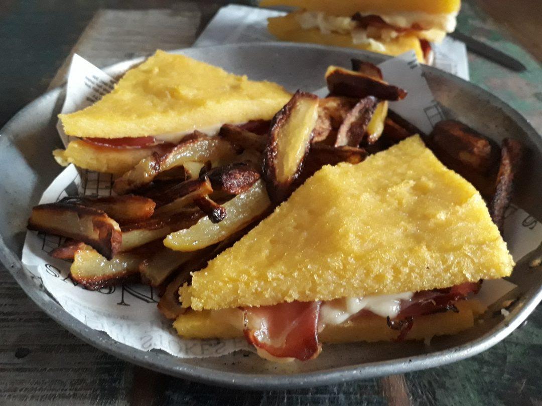 sandwich alla polenta