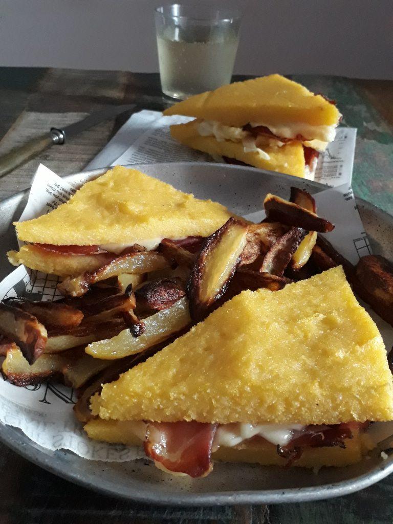 sandwich di polenta