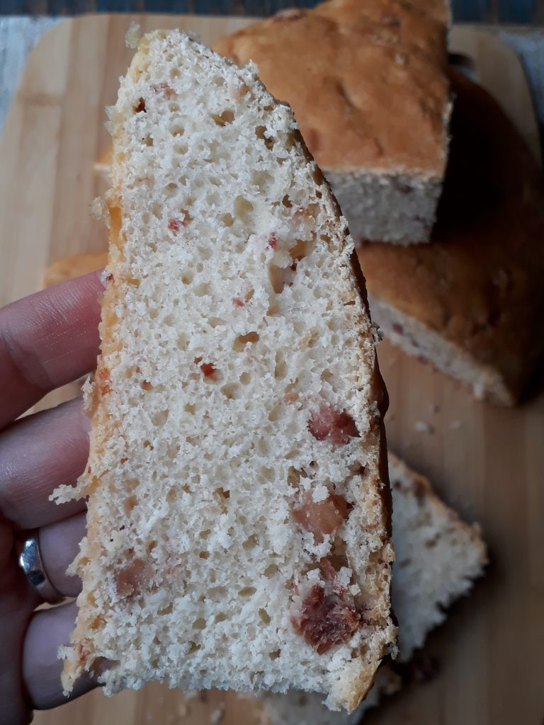 pane con pancetta e pecorino