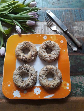sformatini di riso con speck e radicchio tardivo