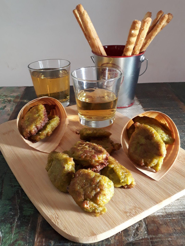 fritella con asparagi