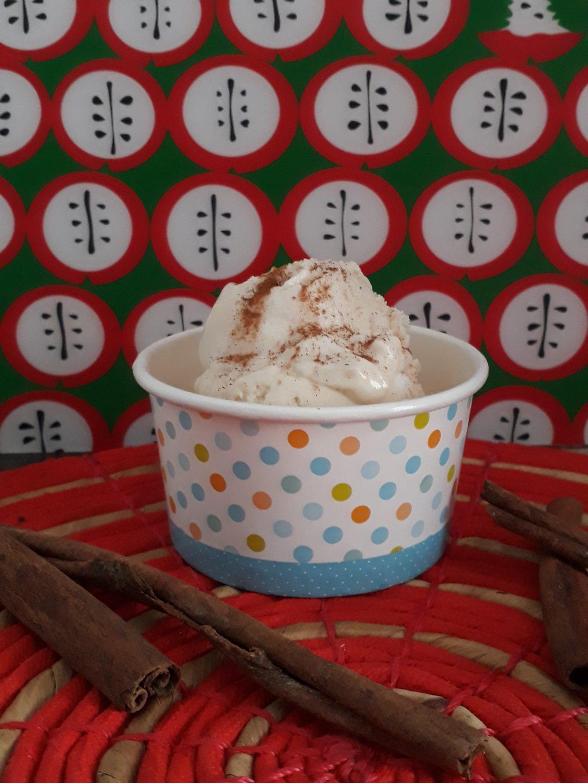 gelato alla mandorla e cannella senza gelatiera