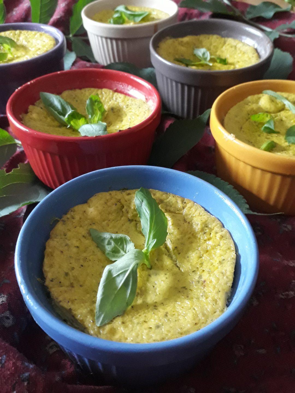 tortino con zucchine e robiola