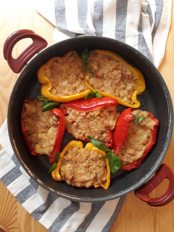peperoni patate e tonno