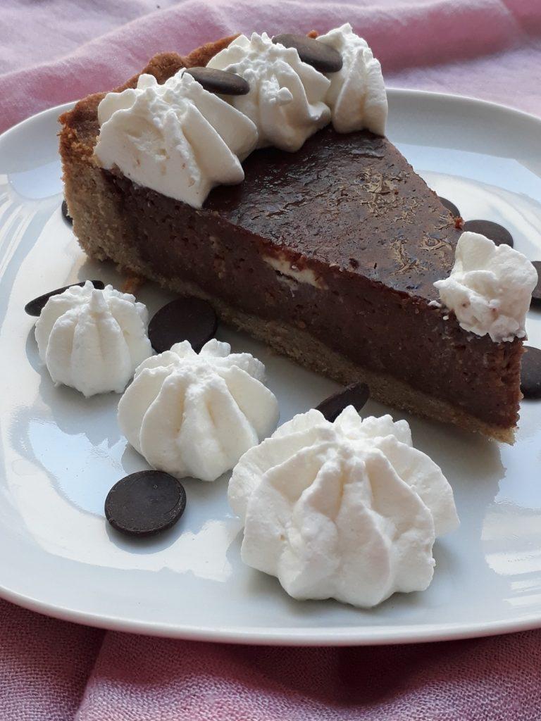 torta con semolino di farro e cioccolato