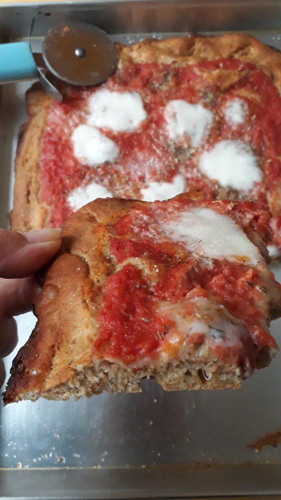 pizza alla farina di roveja