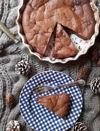 torta di ricotta e cioccolato